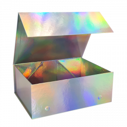 220x280x110mm Holographic Magnetic Gift Boxes
