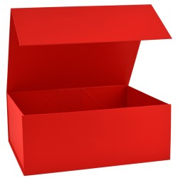 300mm Deep Red Magnetic Gift Boxes