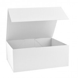 220mm White Magnetic Rigid Gift Boxes