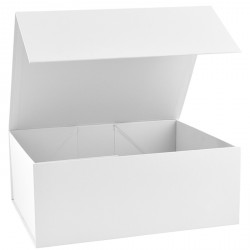 300mm Deep White Magnetic Gift Boxes