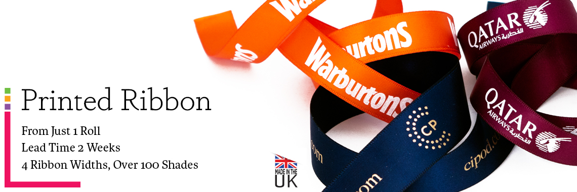 Printed Ribbon Within 2 Weeks UK