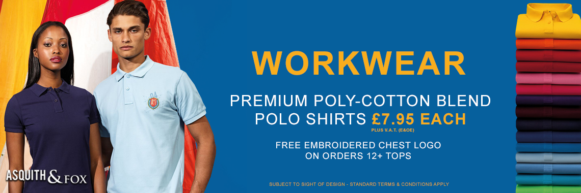 Premium Poly Cotton Polo Shirts