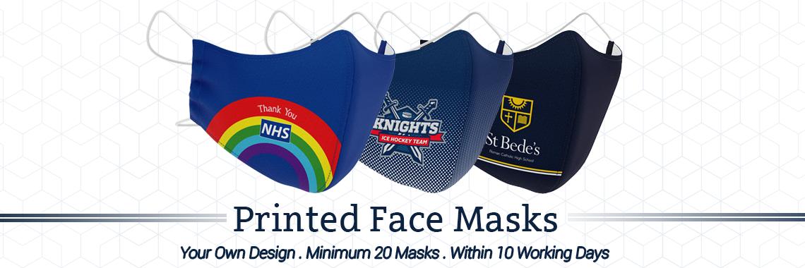 Printed Face Masks UK