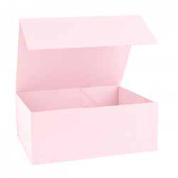 220x280x110mm Baby Pink Magnetic Rigid Gift Boxes