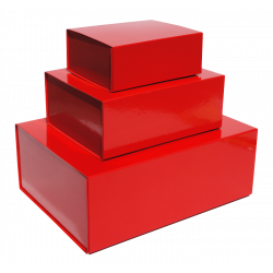 Red Magnetic Gift Boxes