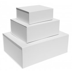 White Magnetic Gift Boxes