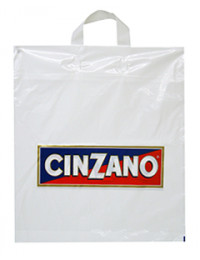 Printed Flexi Loop Carrier Bags