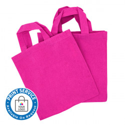 Canvas Bags 225mm Pink