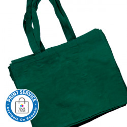 Large Green Canvas Bags