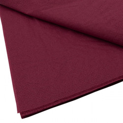Coloured Serviettes Burgundy
