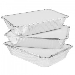 No.2 Foil Food Containers