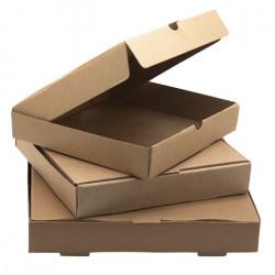 """9"""" Plain Pizza Boxes"""