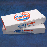"""Fish Chip Boxes 12"""""""