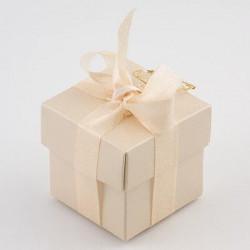 Champagne Square Favour Boxes