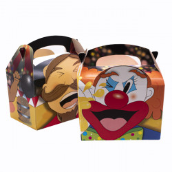 Childrens Meal Boxes Circus