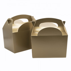 Gold Children's Meal Boxes