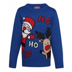 Children's Ho Ho Ho Christmas Jumper