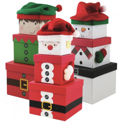 Christmas Stack Boxes