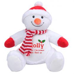 Personalised Christmas Santa Soft Toy