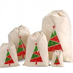 Coloured Christmas Tree Sacks