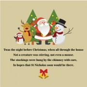 TWas The Night Before Christmas Sacks