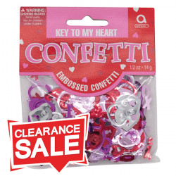Key To My Heart Table Confetti