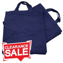 Medium Blue Cotton Bags *Clearance*