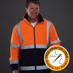 High Viz Fleece Jacket
