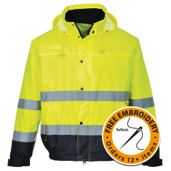 High Viz Safety Jacket