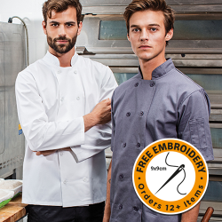 Long Sleeve Chefs Jackets