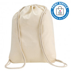 Natural Cotton Backpack Bags