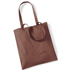 Brown Cotton Bags Long Handles