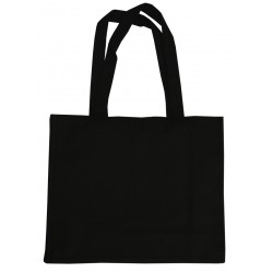 Large Black Canvas Bags