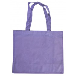 Large Lilac Canvas Bags