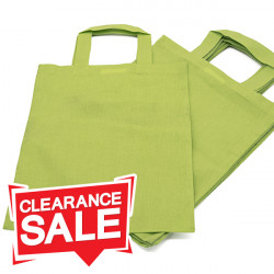 Lime Green Special Offer Cotton Bags