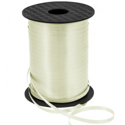 Cream Curling Ribbon