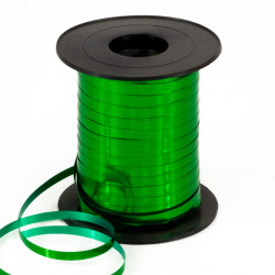 5mm Metallic Green Curling Ribbon