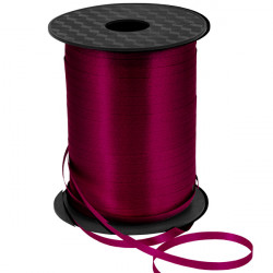 10mm Plum Curling Ribbon