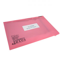 250mm Pink Eco Mailing Bags
