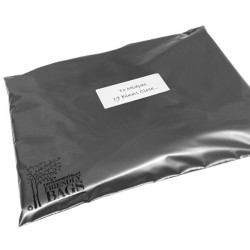 430mm Silver Eco Mailing Bags