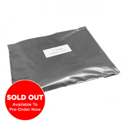 250mm Silver Eco Mailing Bags