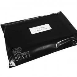 430mm Black Eco Mailing Bags