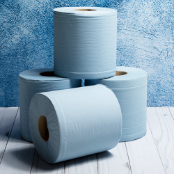 Blue Barrel Rolls 2ply