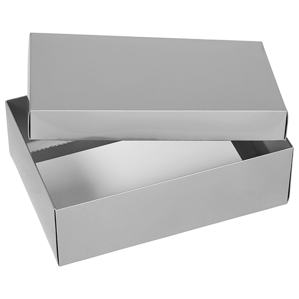 Large Silver Gift Boxes