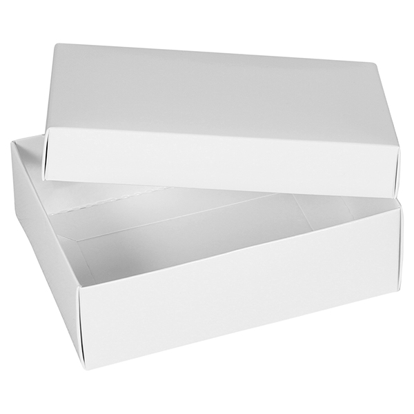 Large White Gift Boxes from Midpac are supplied as flat boxes ...