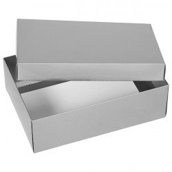 Medium Silver Gift Boxes