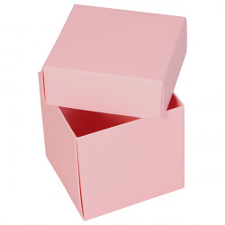Pink Cube Boxes