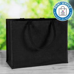 Black Jute Bags