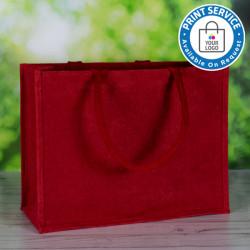 Red Jute Bags