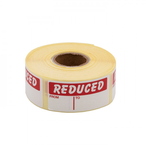 25x51mm Reduced Labels